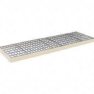 "Shelf,24"" D,96"" W,Wire Deck Deck"