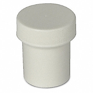 SCREW CAP JAR,,14.8ML,PP,PK 12