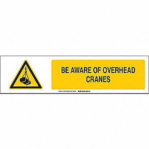 Slider Insert,Be Aware Overhead Cranes