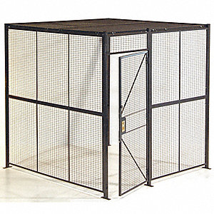 Stainless Steel Wire Partition, 3 sided
