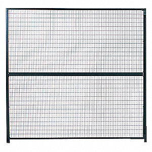 Powder Coated Wire Partition Panel, 1 EA