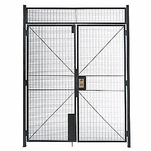 Enamel Double Hinged Gate, 1 EA