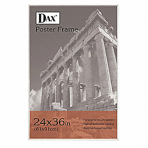 Poster Frame,Plastic,36x24 In.