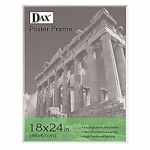 Poster Frame,Plastic,24x18 In.