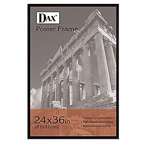 Poster Frame,Wood,36x24 In.
