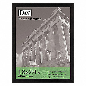 Poster Frame,Black,24x18 In.