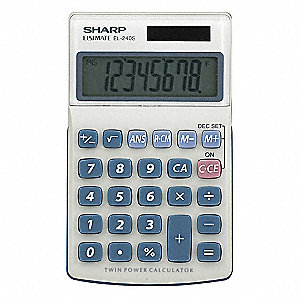 Handheld Calculator,LCD,8 Digit