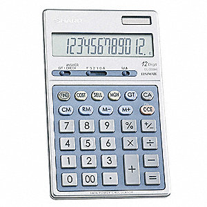 Executive Handheld Calculator,12 Digit
