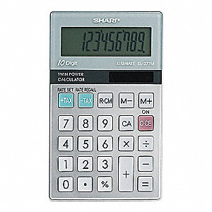 Handheld Business Calculator,10 Digit