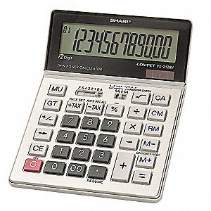 Commercial Desktop Calculator,12 Digit