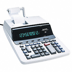 Desktop Calculator,Printing,12 Digit
