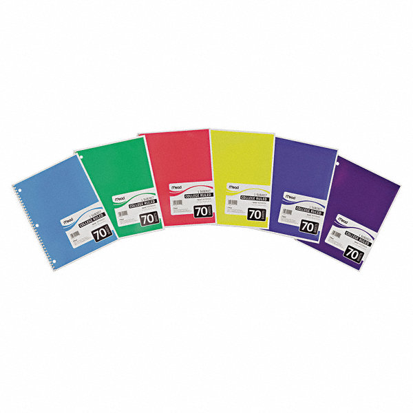 Mead supplies a variety paper products for students and professionals. On Time Supplies offers Mead filler paper, as well as Mead notebooks and note pads in a range of styles and sizes to fill any need.