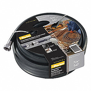 CUT AND COUPLED-WATER HOSE 5/8 75FT