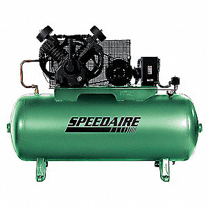 Elec. Air Compressor,2 Stage,10HP,34CFM