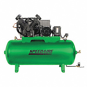 speedaire 3 phase electrical horizontal tank mounted 10 0hp air rh grainger com speedaire compressor user manual Speedaire Direct Drive Air Compressor