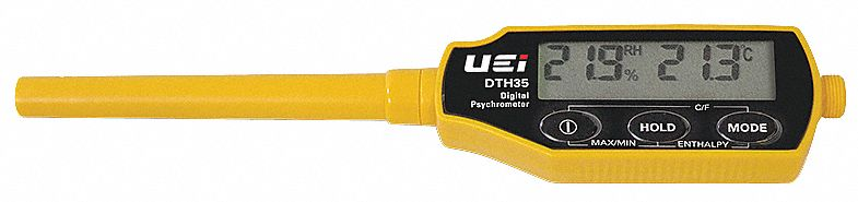 Digital Psychrometer, Temp and Humidity