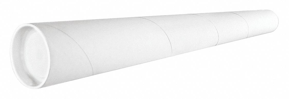 Cylindrical,  Mailing Tube,  With End Caps,  3x36 in Usable DxL,  3x36x36 in Usable WxDxL,  PK 24