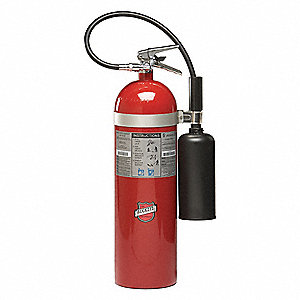Carbon Dioxide Fire Extinguisher with 15 lb. Capacity and 13 to 17 sec. Discharge Time