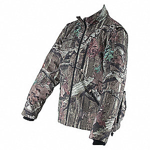 JACKET HEATED CAMO 18V M