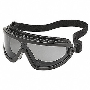 Protective Goggles,Gray,Polycrbonate,PVC
