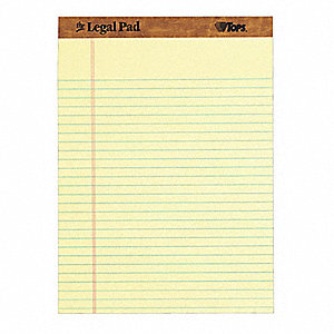 Perforated Pad, 8-1/2 x 11-3/4 In, PK12
