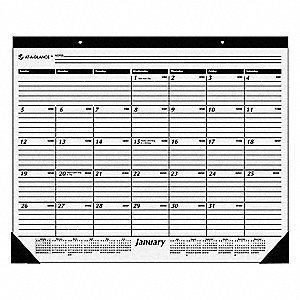 22x17 Desk Pad Calendars