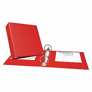 "3"" Economy Binder, Red, 460-Sheet Capacity"