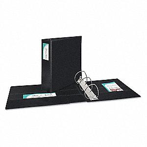 avery black 4 3 ring binder 8 1 2 x 11 sheet size vinyl 780