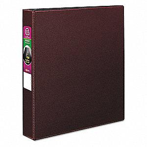 avery burgundy 1 1 2 3 ring binder 8 1 2 x 11 sheet size