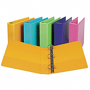 View Binder,Presentation,2 In,Coral,PK2