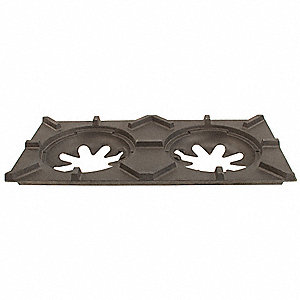 H280 Top Grate, Cast Iron