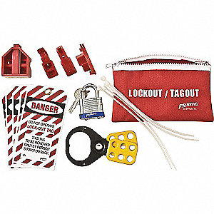 Portable Lockout Kit,Electrical Lockout