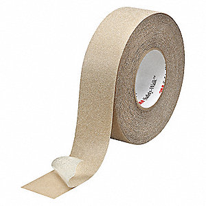 "Anti-Slip Tape,Solid,6"" W,60 Grit"