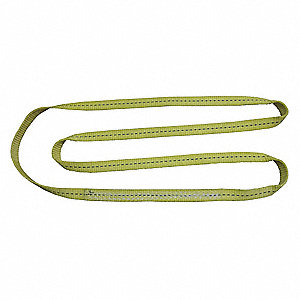 "8 ft. Endless - Type 5 Web Sling, Polyester, Number of Plies: 1, 1"" W"