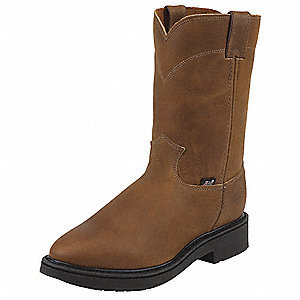 Work Boots,Plain,Mens,12,EEE,Brown,PR