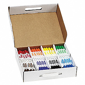 Washable Marker,Assorted,PK200