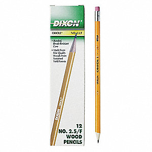 Oriole® Pencil, Yellow, 12 PK