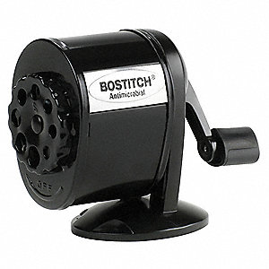 Manual Pencil Sharpener,Table/Wall,Black