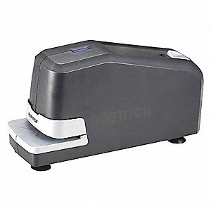 "Black Electric Stapler, 1/2"" Throat Depth, 25 Sheet Capacity"