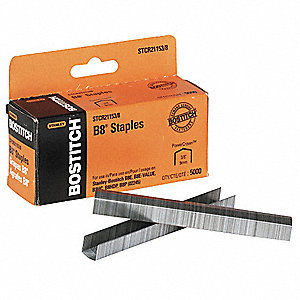 Staples,3/8 In. Leg,PK5000
