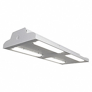 LED High Bay,107W,18300 lm,2 Light Bars