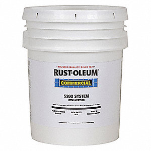 Int/Ext Paint,5 gal.,Safety Red