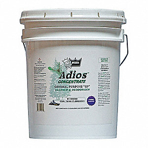 All Purpose Cleaner, 5 gal. Pail, Unscented Liquid, Ready To Use, 1 EA