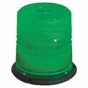 BEACON LED CLASS 2, GREEN, MAG MT