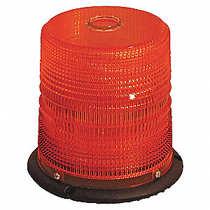 BEACON LED CLASS 2, RED, MAG MT