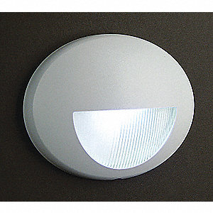 LED Nightlight,White,4-3/8 in H,120/277V