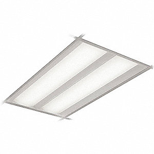 Recessed Troffer, LED Replacement For 4 Lamp LFL, 4000K, Lumens 4900, Fixture Rated Life 50,000 hr.