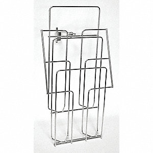 Steel Documents Holder, Hanging Mounting Type, Silver, Finish: Natural