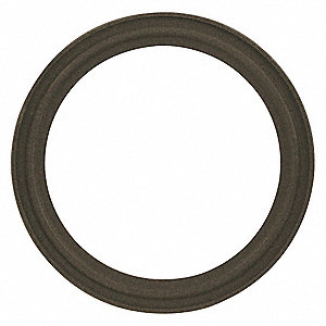 "Q-Line Gasket, 3-7/8"" Inside Dia., 5"" Outside Dia., Tuf-Steel, 4"" Tube Size"