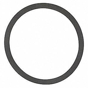 "I-Line Gasket, 2-13/32"" Inside Dia., 2-49/64"" Outside Dia., Tuf-Steel, 2-1/2"" Tube Size"